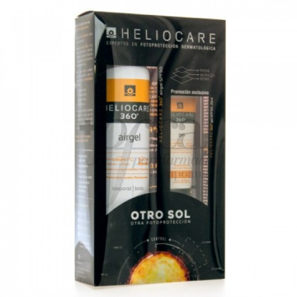 HELIOCARE 360 AIRGEL SPF50 200ML + REGALO PROMO