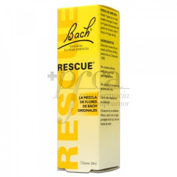BACH RESCUE GOTAS 20ML