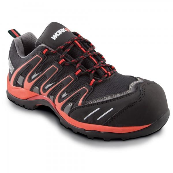 Zapato seg. workfit trail rojo n.44