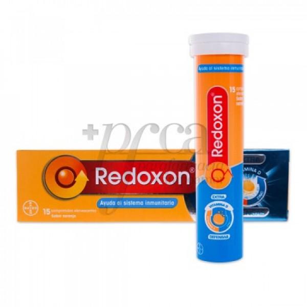 REDOXON EXTRA DEFENSAS VITC+ZINC 15 COMP NARANJA