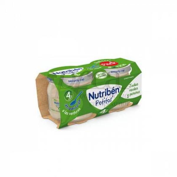 NUTRIBEN POTITO INICIO VERDURAS 2X120 G