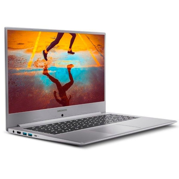 Medion s15449 akoya plata portátil 15.6'' fullhd i5-1135g7 512gb ssd 16gb ram windows 10 home