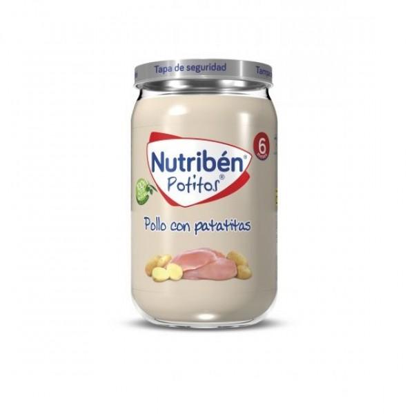 NUTRIBEN POLLO CON PATATITAS 235 G