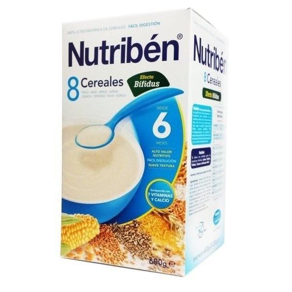 NUTRIBEN 8 CEREALES  DIGEST 600G