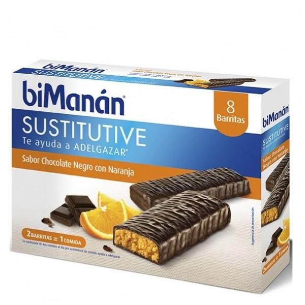 BIMANAN CHOCOLATE-NARANJA 8 UDS