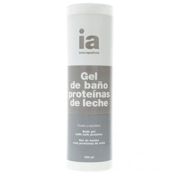 INTERAPOTHEK GEL BAÑO PROTEINA LECHE 750 ML